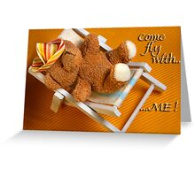 Come dream with me Greeting Card