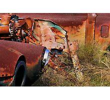 Multi Colored Rust   ( BoneYard Series ) Photographic Print