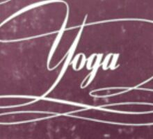 About Yoga, The Complete Philosophy by Harvey Day Sticker
