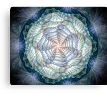 Pastels and Spirals Canvas Print