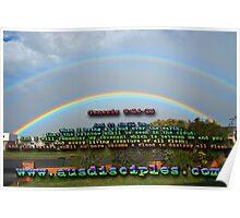 Genesis 9:14-15 Rainbow Sky Poster