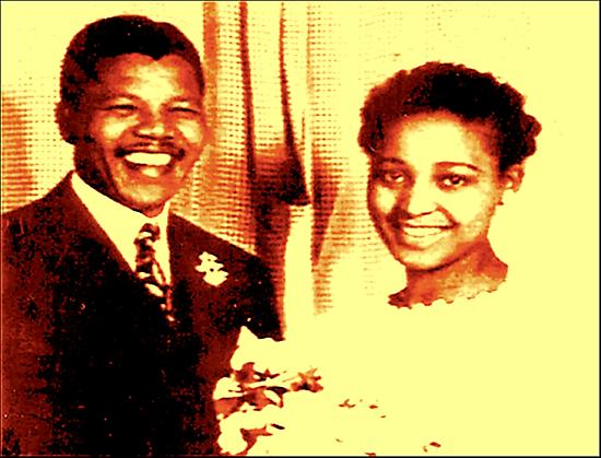 WINNIE & NELSON MANDELA by KEITH  R. WILLIAMS