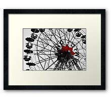 Monotone and colour Framed Print