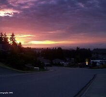 Kenwill Drive Sunset by Kevin Cotterell
