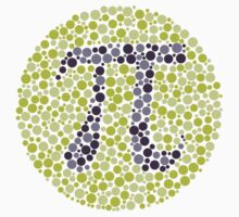 Not So Colorblind Pi T-Shirt