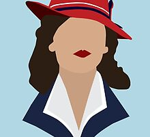 Agent Carter Minimalist by dragonlxrd