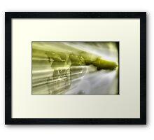 ©DA Alien Robot A Framed Print