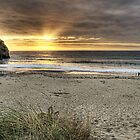 Portreath Sunset by Simon Marsden