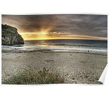 Portreath Sunset Poster