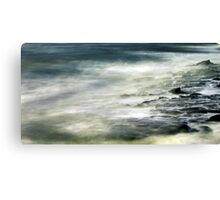 wave wandering.... Canvas Print
