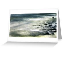 wave wandering.... Greeting Card
