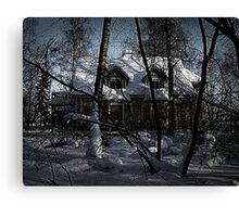 Hotel Hellsinki Canvas Print