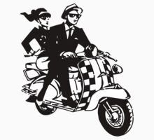 Ska Couple on Scooter by ukedward