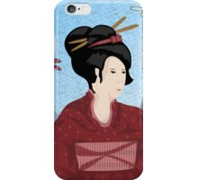 Old Style Japanese Drawing iPhone Case/Skin