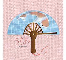 Asian Fan (uchiwa) Photographic Print