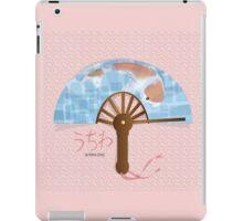 Asian Fan (uchiwa) iPad Case/Skin