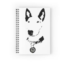 Lola English Bull Terrier Tee 2 Spiral Notebook