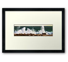 keep on trying... Framed Print