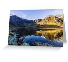 Lake Idwal Greeting Card