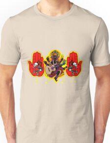 Ganesha Kokopelli Hands Unisex T-Shirt
