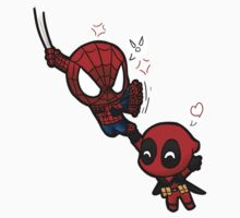 spidey and pool T-Shirt