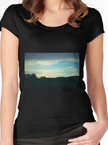 In The Middle of Nowhere Women's Fitted Scoop T-Shirt