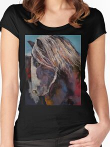 Highland Pony Women's Fitted Scoop T-Shirt