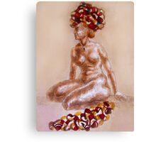 Orient Woman Canvas Print