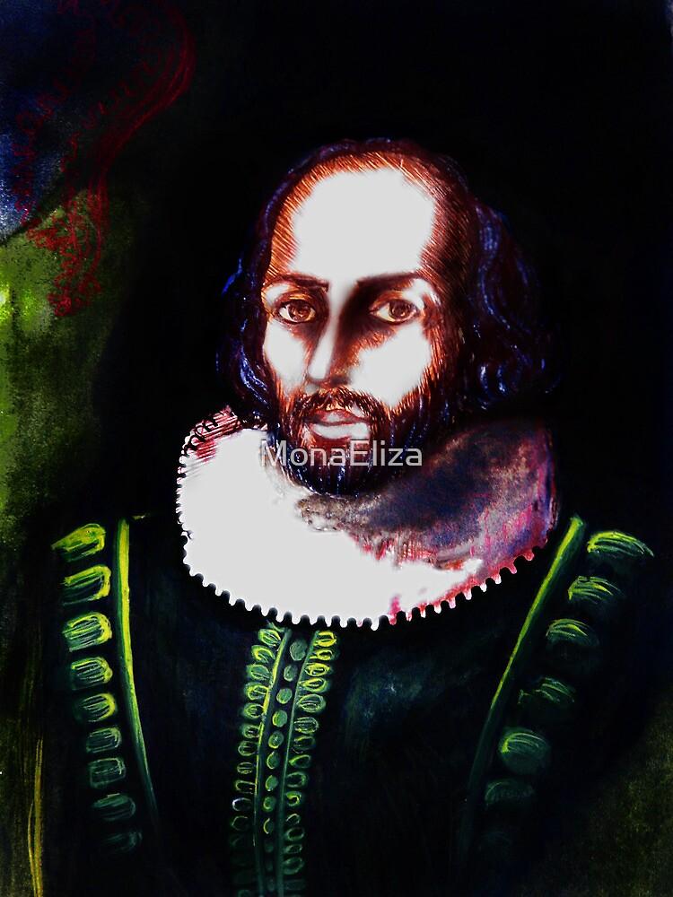 Shakespeare's Portrait by MonaEliza