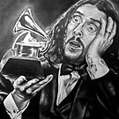 Weird Al Grammy Pencil Portrait by morfland
