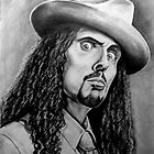 Weird Al Pencil Portrait by morfland