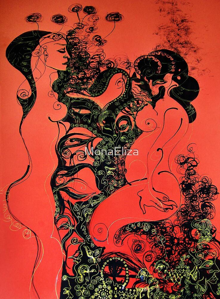 Hermaphrodite by MonaEliza