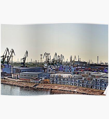 Russian Dock Poster