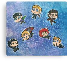 Avengers chibis Canvas Print