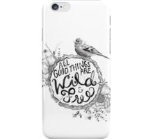"""Thoreau"" Your Life Away iPhone Case/Skin"