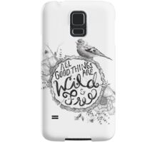 """Thoreau"" Your Life Away Samsung Galaxy Case/Skin"