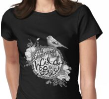 """Thoreau"" Your Life Away Womens Fitted T-Shirt"