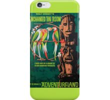 Tiki Room Attraction Poster iPhone Case/Skin