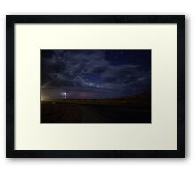 Saturated Starshine - 1 of 2 Framed Print
