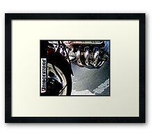 Six Pack Framed Print