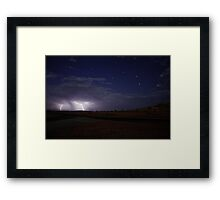 Saturated Starshine - 2 of 2 Framed Print
