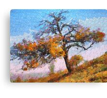 A Tree Close to Home Canvas Print