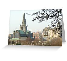 101 - GLASGOW CATHEDRAL SEEN FROM NECROPOLIS - 02 (D.E. 2009) Greeting Card