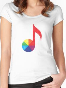 Music Theory Women's Fitted Scoop T-Shirt