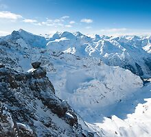 View from Titlis by peterwey
