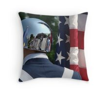 Memorial Day Throw Pillow