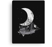 Moon Ship Canvas Print