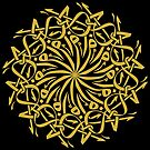 Arabian Circle Calligraphy by Omar Dakhane