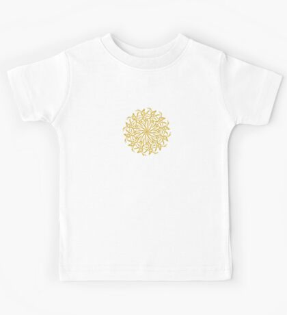 Arabian Circle Calligraphy Kids Tee