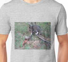 Mishu and a Wild Hermann's Tortoise Unisex T-Shirt